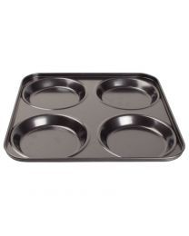 Vogue antikleef Yorkshire pudding bakplaat 4 vormen