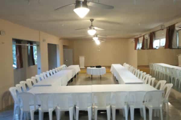 Salon de conferencia en las terrenas