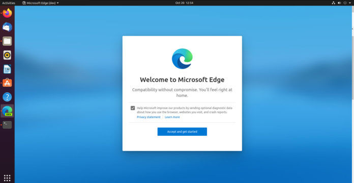 Microsoft Edge Browser for Linux