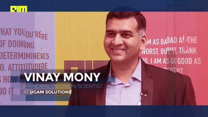 Vinay Mony on Data Scince