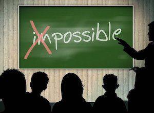Unmöglich? Gibt es nicht.