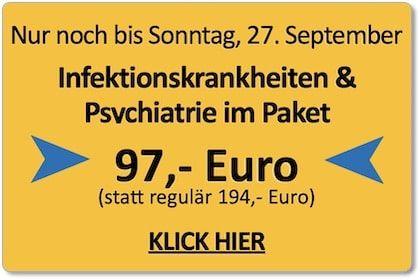 Paket Psychiatrie und Infektionskrankheiten - Das Videotraining mit Stefan Barres