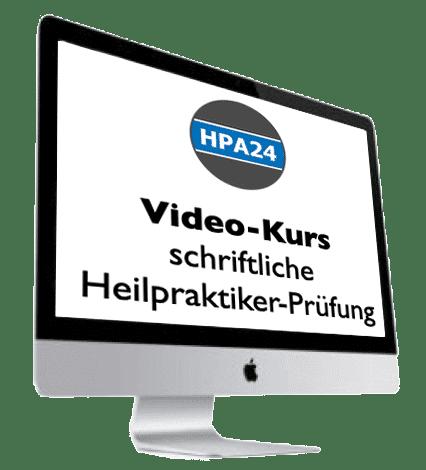 Der Videokurs für die schriftliche Heilpraktikerprüfung
