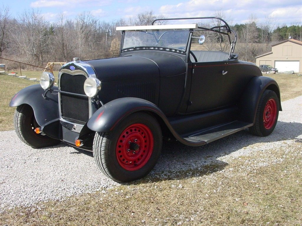 1929 Ford Model A Roadster Hot Rod, 302 Ford