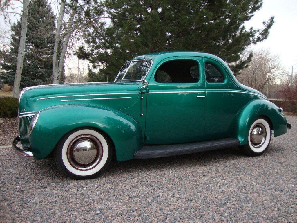 1939 Ford Coupe Moonshine Runner Hot Rod Street Rod