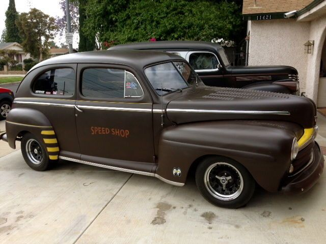 1946 Ford 2 door Sedan all steel hot rod