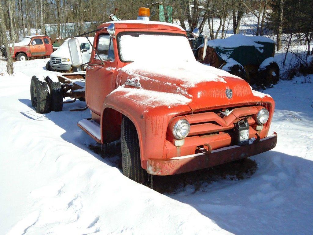1955 Ford F700 Truck Flatbed Hot Rod Rat Rod