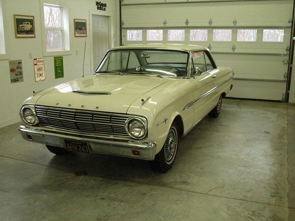 1963 1/2 Ford Falcon Sprint Original CA Black Plate Survivor Factory Hot Rod
