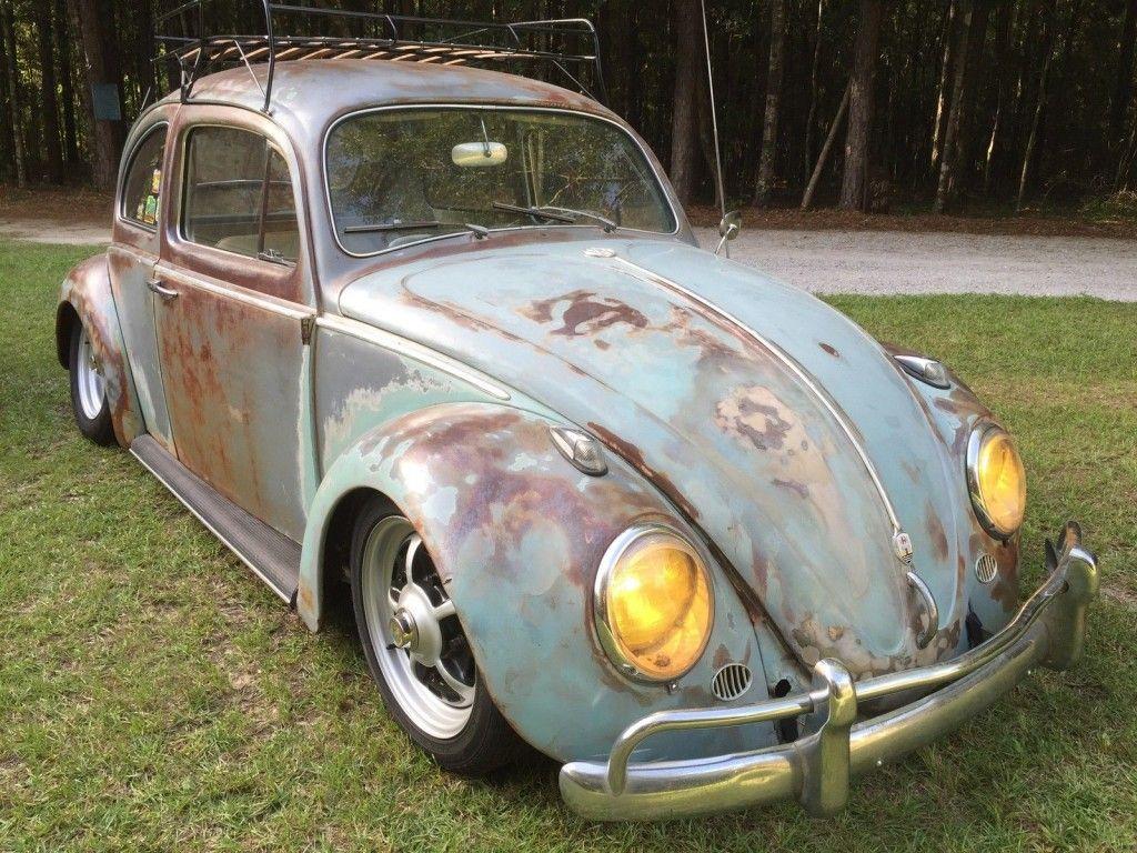 1961 Volkswagen Beetle Patina Rat Rod Hot Rod