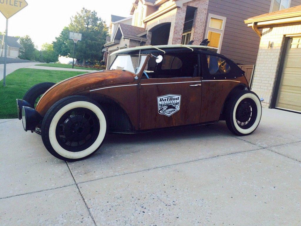 1969 Volkswagen Beetle Classic Rat Rod Custom