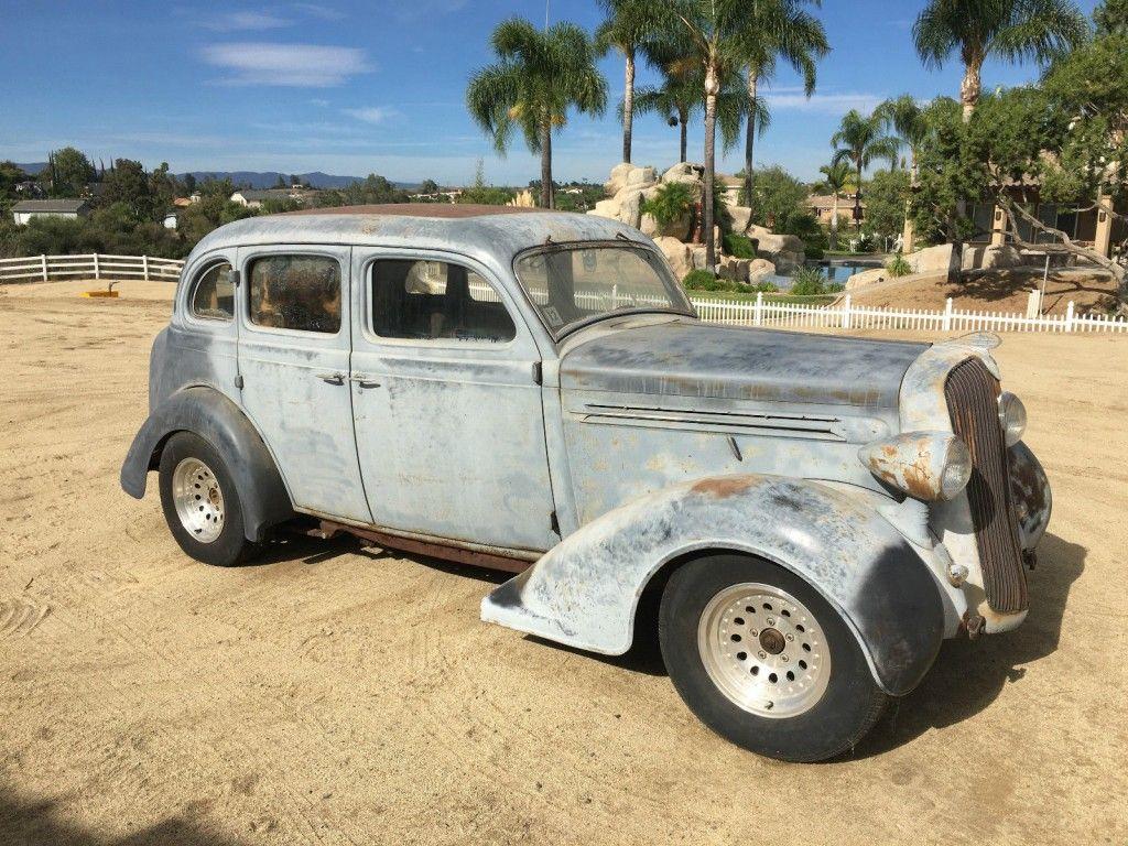 1936 Plymouth Sedan Classic Hot Rod