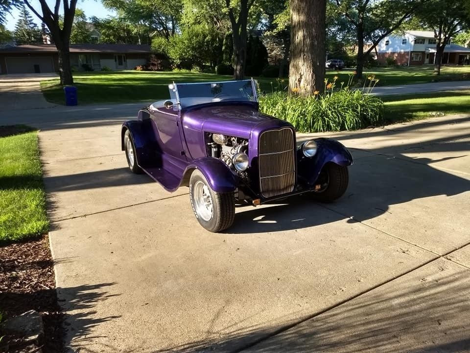rumble seat 1929 Ford Hot Rod