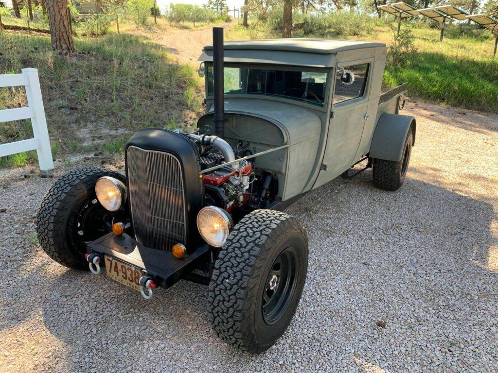 custom vintage 1928 Ford Model A Truck hot rod