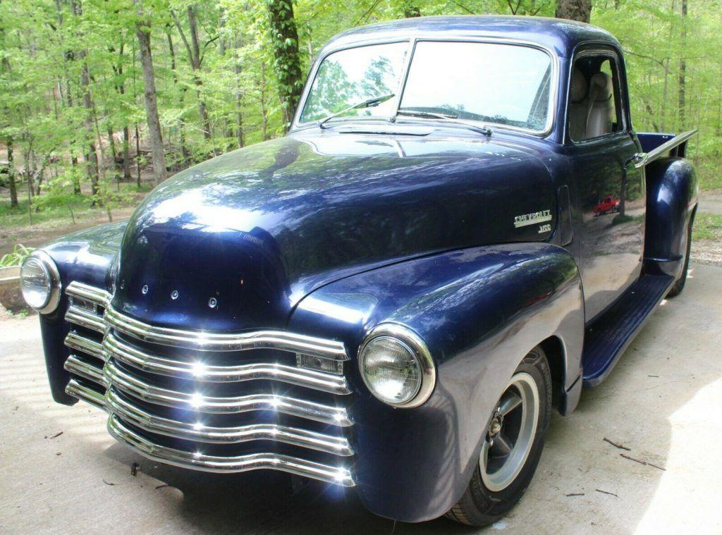 street rod 1950 Chevrolet Pickup hot rod
