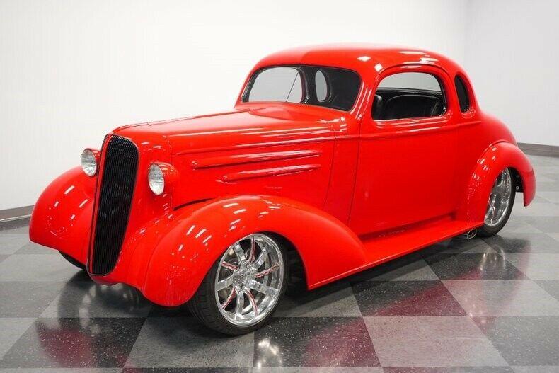 Restored Stroker 1936 Chevrolet Hot Rod