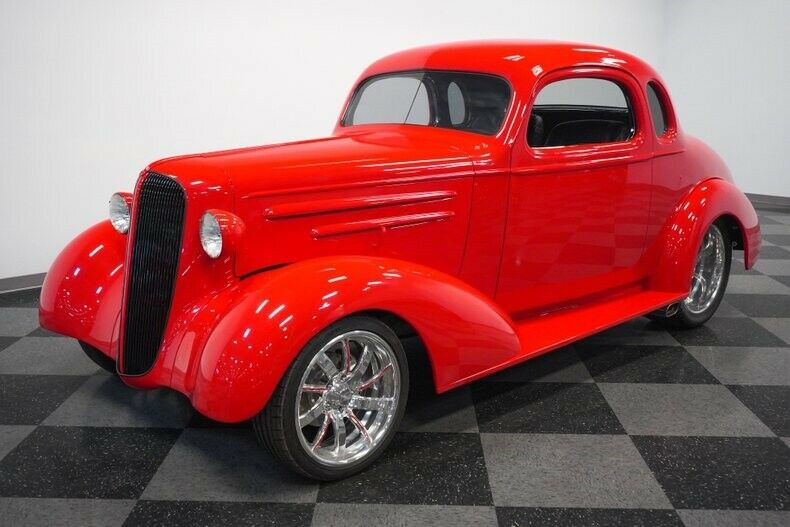 red beast 1936 Chevrolet Coupe hot rod