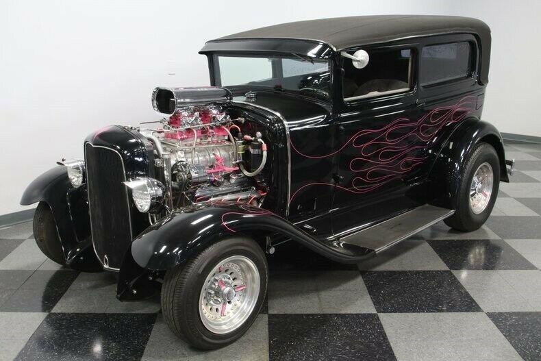 awesome 1930 Ford Model A Tudor hot rod
