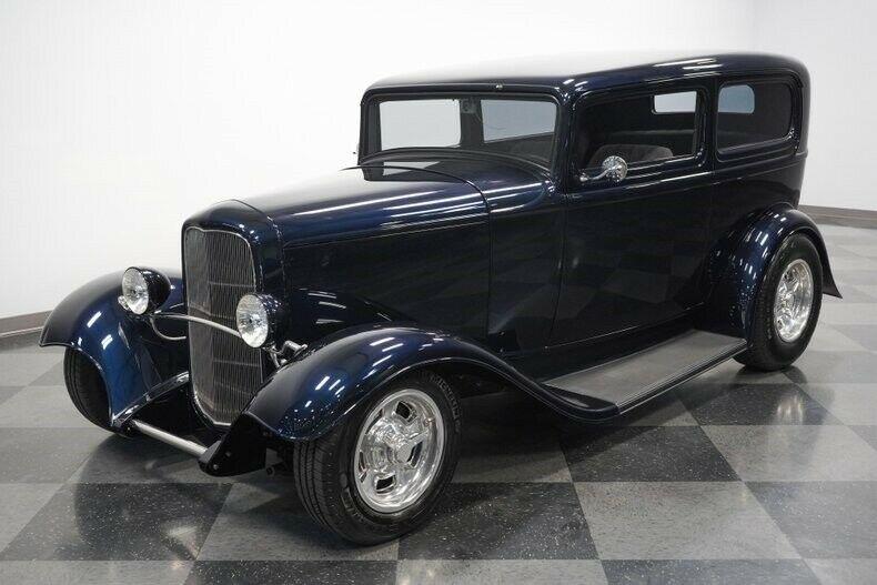 restored 1932 Ford Tudor hot rod