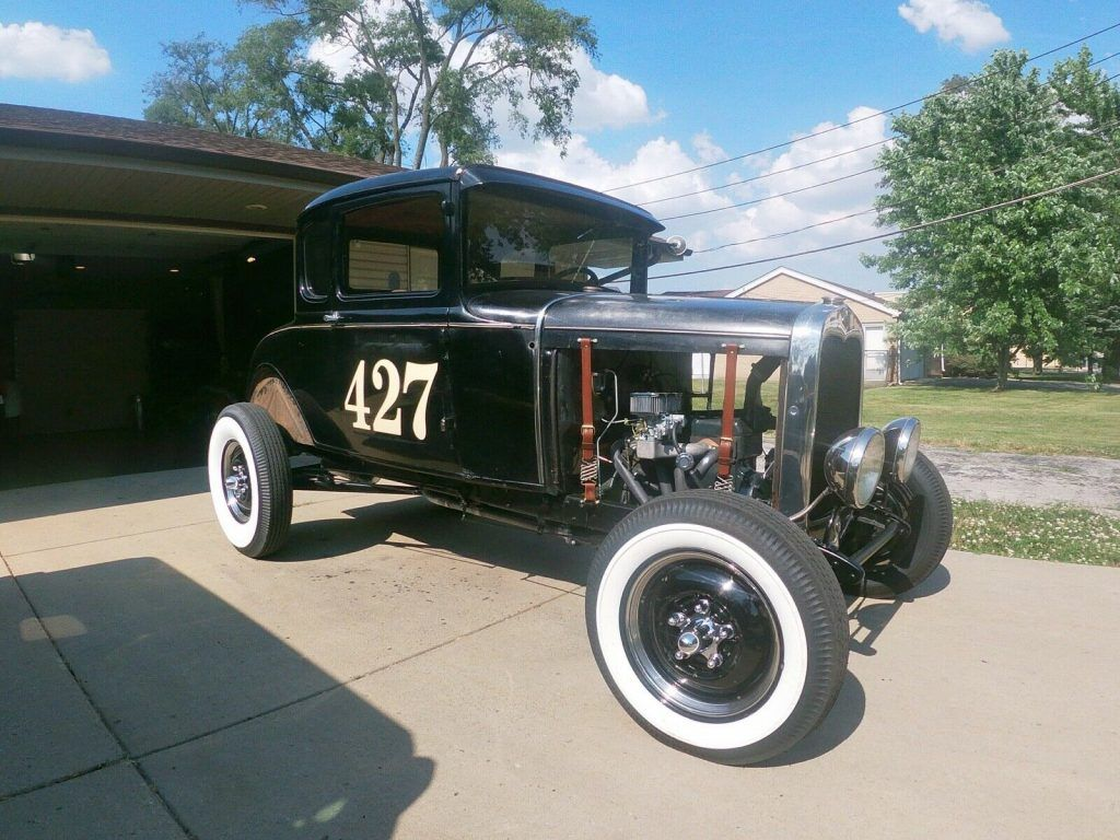 well modified 1930 Ford Model A hot rod