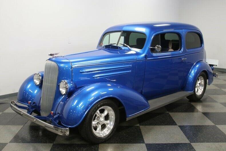 awesome build 1936 Chevrolet Streetrod hot rod