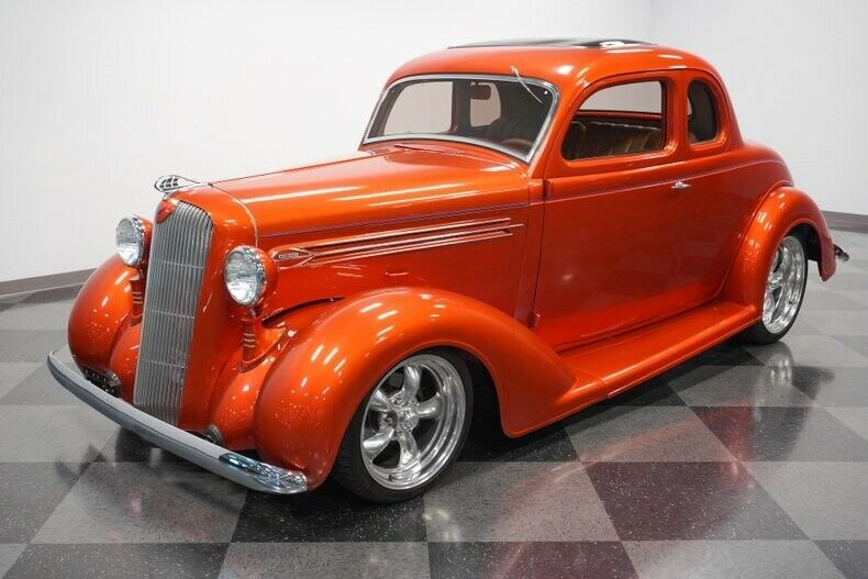 fuel injected 1936 Plymouth hot rod