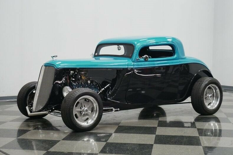 low miles 1934 Ford Coupe hot rod