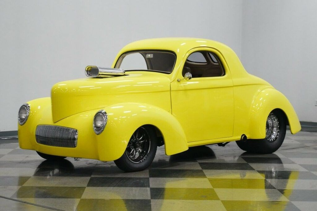 1941 Willys Coupe hot rod [supercharged]