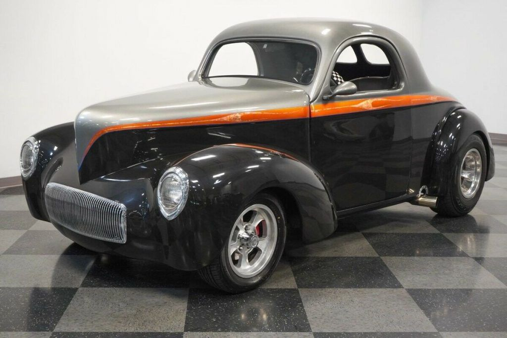 1941 Willys Coupe hot rod [tons of extras]
