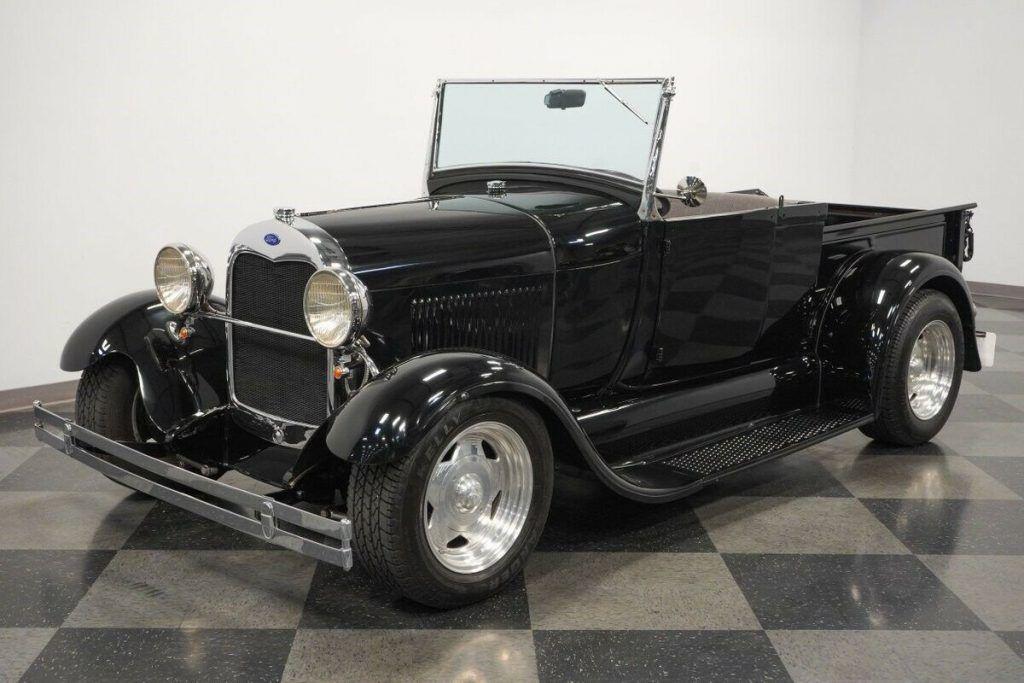 1928 Ford Pickup hot rod [sleek vintage look]