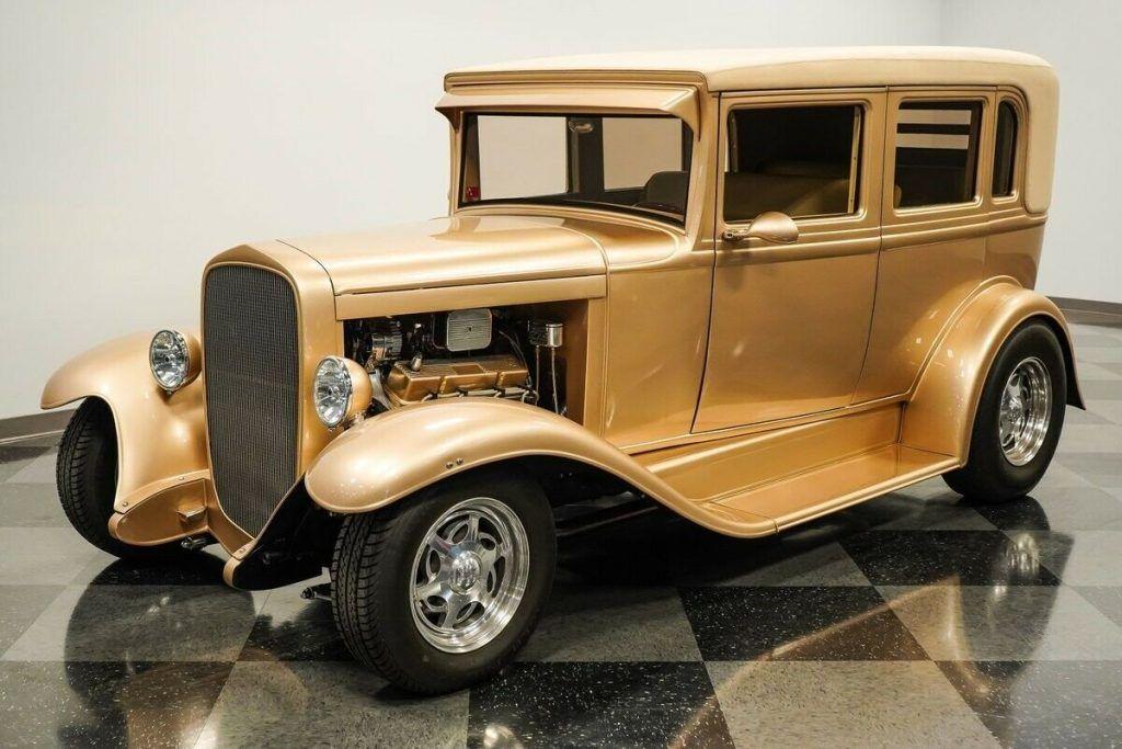 1930 Chevrolet Sedan hot rod [built for show and go]