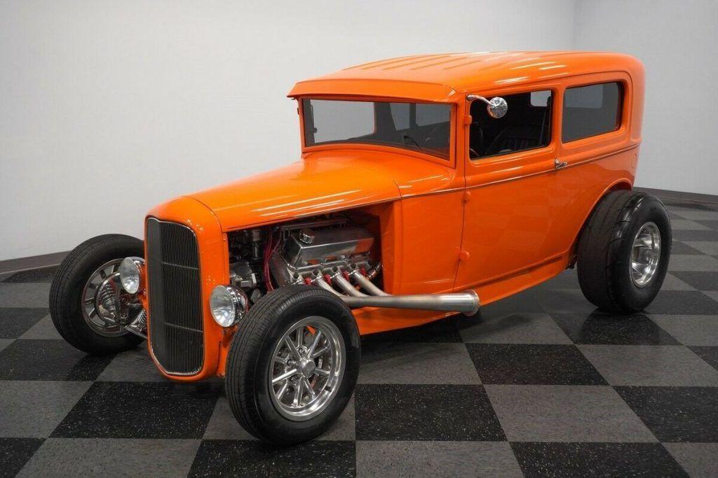 1931 Ford Tudor Sedan hot rod [fuel injected beast]