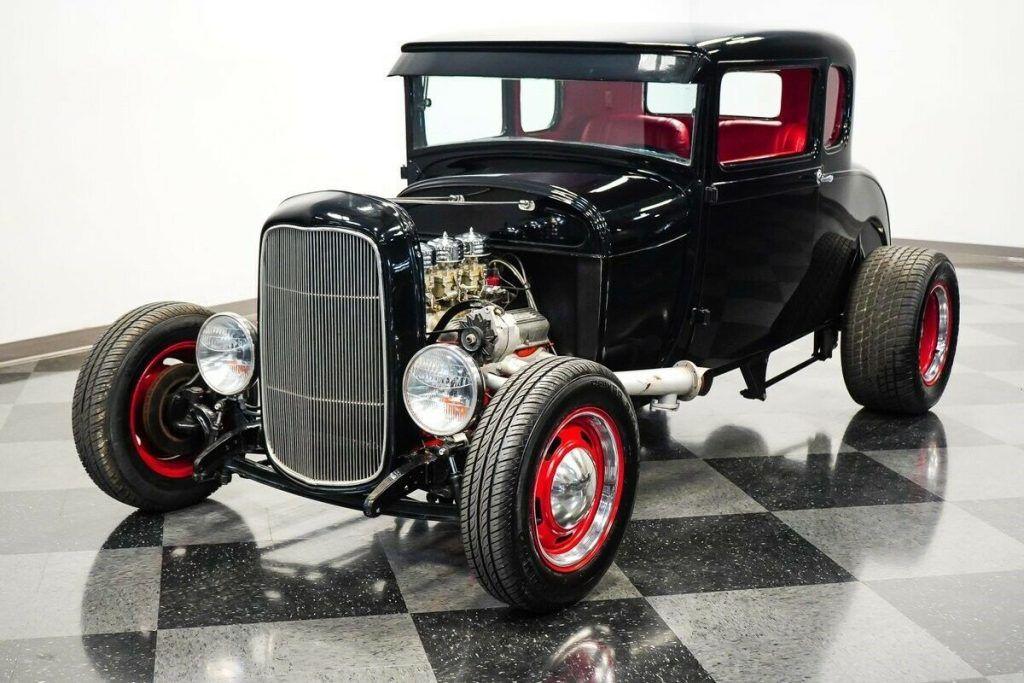 1929 Ford 5 Window Coupe hot rod [true street machine]