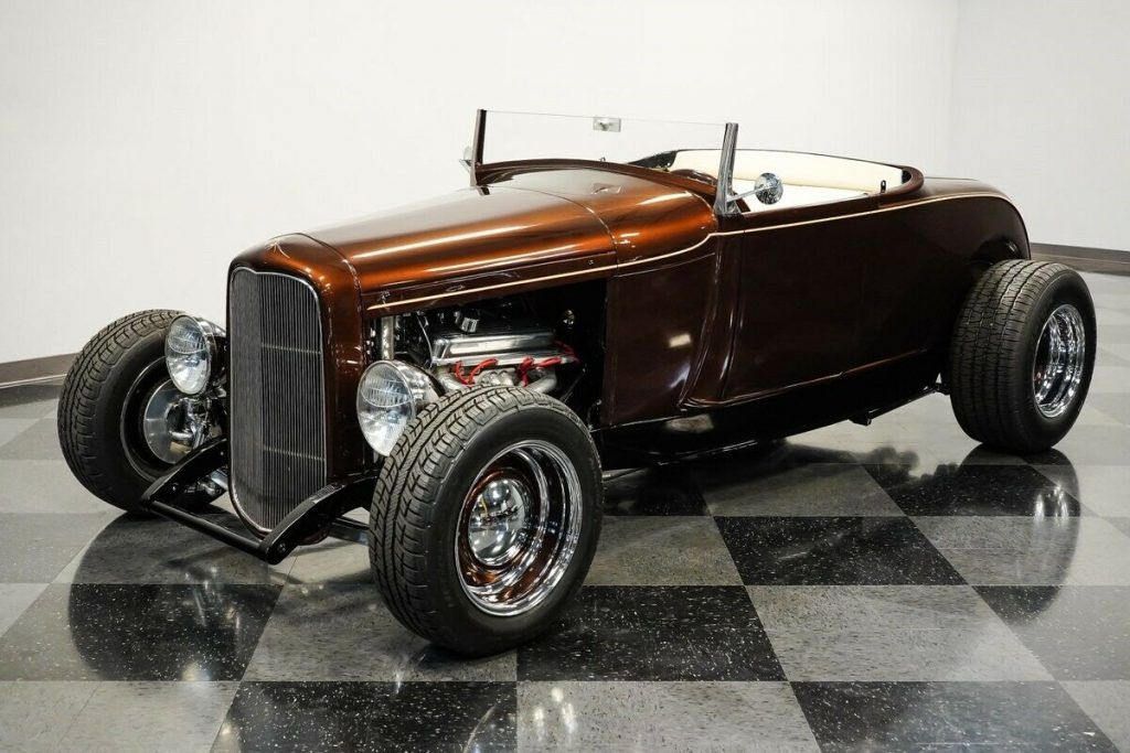 1929 Ford Model A Roadster hot rod [terrific quality build]