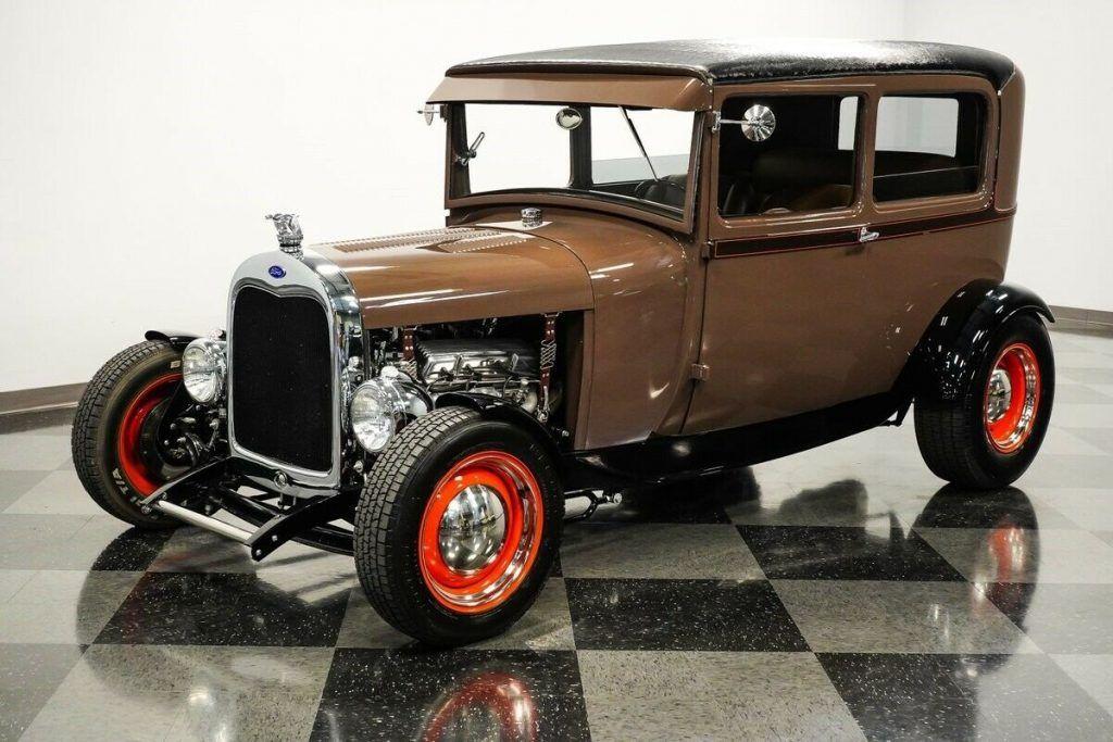 1929 Ford Model A Tudor hot rod [upgraded street machine]