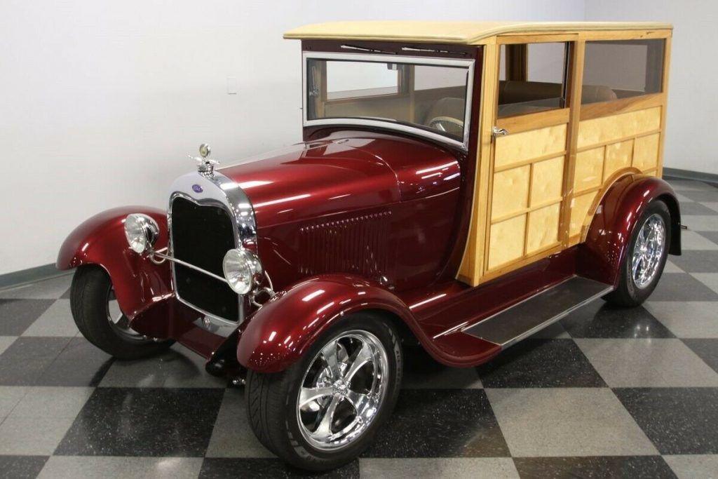 1929 Ford Woody Wagon hot rod [fresh build]