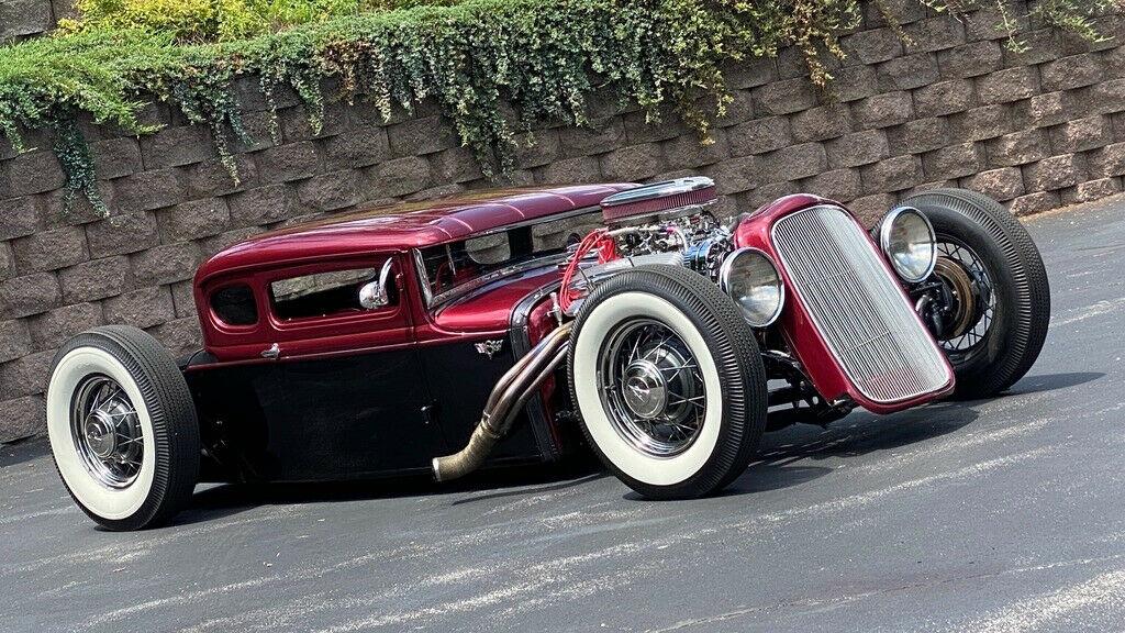 1930 Ford Model A Custom 5 Window Hot Rod [super chopped and lowered]
