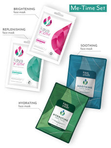 Sheet Mask Combo: Brightening, Replenishing, Hydrating & Soothing