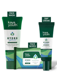 Hydrating Gentle Face Wash + Radiance Day Crème + Aloe wipes