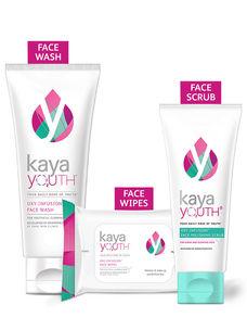 Glow Essentials Face Wash + Polishing Scrub + Wipes