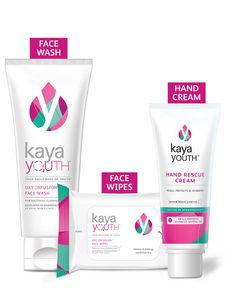 Glow Essentials Face Wash + Hand Rescue Cream + Wipes