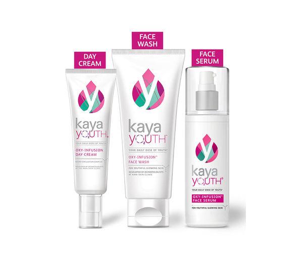 Glow Essentials Face Wash + Day Cream + Face Serum