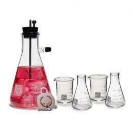 Erlenmeyer Vacuum Flask Cocktail Shaker Set