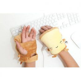 Toast USB Wired Handwarmers - Butta