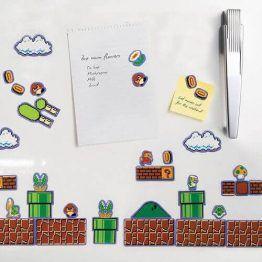 Super Mario Bros Magnets Collectors Edition