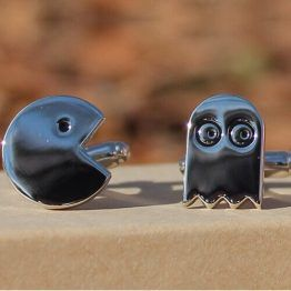 Pac Man Cufflinks