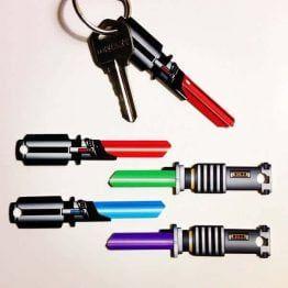 Saber Shaped Space Keys