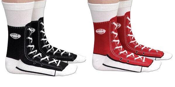 Sneaker Silly Socks