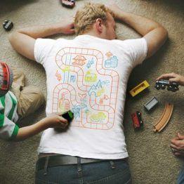 Father Son Matching Play Mat T-shirts