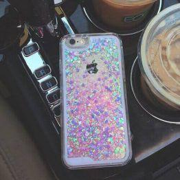Liquid Holographic Glitter iPhone Case