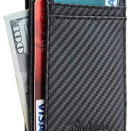 Travelambo RFID Blocking Leather Wallet